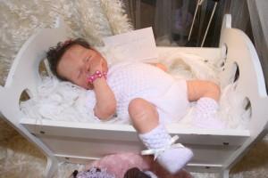 Levensechte baby